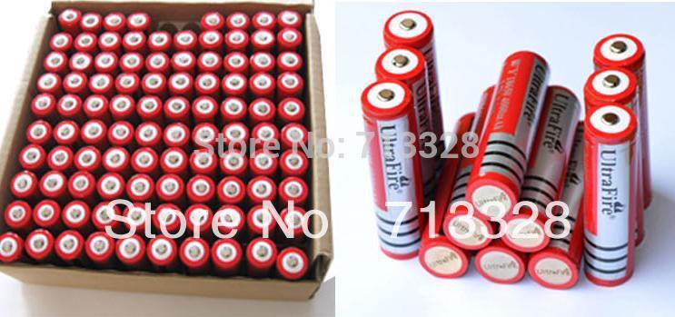 Аккумулятор Ultrafire + 10 pc/pcb 3,7 v 18650 4000