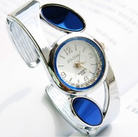 Hot Sale Free Shipping Wholesale Fashion women quartz bangle watch wristwatch Fashion Design Hight Quality Gift