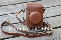 Wholesale! camera bag imitation leather case for panasonic lumix LX3 LX5 leica LUX4 D-LUX5 camera case bag High quality
