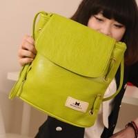 Free Shipping 2014 Summer Vintage Women's Candy Color Bucket Bag Shoulder Messenger Bag Satchel,PU Leather Handbag