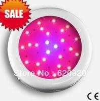 Free shipping,50W UFO LED grow light,25*3W,use 3W led chip,red(630nm):blue(470nm)=8:1,hig quality