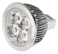 Promotion!!! 4*1W/3*1W MR16 GU5.3 LED spotlight,DC12V input;350lm