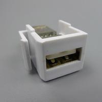 keystone USB USB F/F wall plate