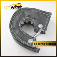 UNIVERSAL RACING TURBOCHARGER T3 TURBO HEAT SHIELD FIBER BLANKET BLACK fit for t25,t28,gt30,gt32,gt35 most t3 turbine housing