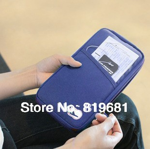 2015 time-limited credit card free shipping new multi-purpose travel bag passport holder case ploy drop retail or wholesale