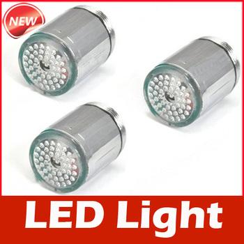 Glow LED Light Water Faucet Tap Automatic 7 Colors Change #3