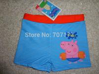 free shipping george pig peppa pig swim shorts trunks swimming bathers swimwear