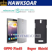 Origin NILLKIN super frosted shield hard case for Oppo find5  X909,with screen protector