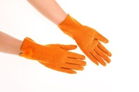 free shipping 2014 Ladies 80% wool 20% Acrylic Mix Fashion Glove Hot Sale Thermal Gloves Device For Women
