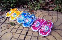 2014 New style children's summer sandals pvc shoes kid's sandals boys girls unsex cartoon sandals slippers sound