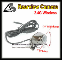 170 degree lens Angle Car Rear Camera View Reversing Backup NTSC / PAL 1/4 inch color COMS free shpping