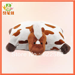 Free shipping hot selling plush animal cushion plush lion shaped pillow cushion stuffed plush lion toy cushion(China (Mainland))