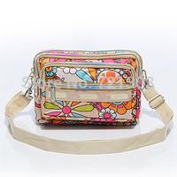 Casual fashion multi-layer messenger bag multi-purpose bag women's handbag