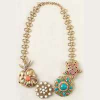 Wholesale,Free Shipping,Fashion Jewelry Necklace Birds of Paradise Necklace,Hot Selling