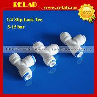 Plastic Slip Lock Tee, 50 pcs Free shipping