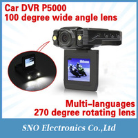Car DVR recorder ,2.0 inch car black box 1280 x 960 video resolution carcam P5000 wholesale Motion Detection
