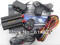 Tracker car  tk103 Car safety GPS Tracker TK103B + SHOCK Sensor SD card Slot Support 12 kinds of Languages Car ALARM Quadband