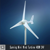 400W 12/24V wind solar alternative wind turbine generator for home use