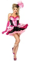 Ladies 80s Madonna Diva Pop Star Material Girl Fancy Dress Party Costume Outfit Fashion-Element 2013 New