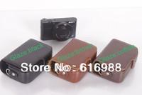 Wholesale! camera bag imitation leather case for Canon ZS7 ZS10 S90 S110 S100V SX210 SX220 SX230 SX240 SX275 SX280 CRD bag/case