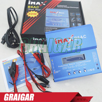 iMAX B6-AC B6AC Lipo NiMH 3s 4s 5s 11.1V 7.4V-22.2V RC Battery Balancer Charger , 2S-6S B6 Charger with Leads
