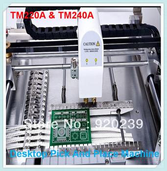 SMT Machine! Surface Mount System, Printer Machine SMT,Desktop Pick and Place Machine, 0402, TM240A