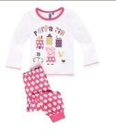 free shipping ! children peppa pig girl top +pants suits Pajamas sleepwear pjs