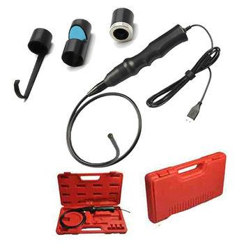 Free shipping!!6LEDs/7.2mm USB Endoscope Inspection Snake Camera Borescope+Magnet+Hook+Mirror car diagnosis