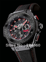 2013 Luxury mens automatic watch + Box Racing Mechanical Watch & Sapphire Glass wristwatch Men watches