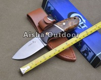 COLT Fixed Blade Hunting Knife Survival Knife 420S.S Blade Wood Handle Gift Knife Free Shipping