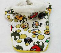 Newest Winter&Autumn Hot Sale Fashion Pet/Dog Clothes puppy Teddy Velvet Sweatshirt Birds Cartoon coat Free Shipping