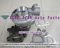 TF035 49135-04020 28200-4A200 Turbocharger For Hyundai H1 H200 Starex Libero Galloper II 2.5L Diesel Engine D4BH 4D56 TCI 100HP