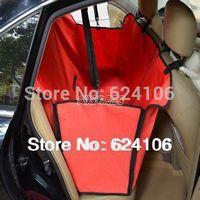 Pet Cradle Dog Car Seat Cover, Pet Seat Mat Blanket Hammock, Pet Dog Car Rear Back Seat Carrier 150*130*40CM