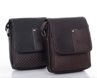 Free shipping 2013classical men bag, men bag leather, men bag shoulder, excellent quality.NB33