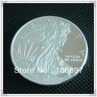 100pcs/lot 2013 American Silver EaglesCoin,silver replica eagles coin,silver clad coin Free shipping