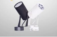 Factory direct sales, 5pcs/lot 5W 1*5W high power led track lighting,led spot light,AC85-265V Free shipping