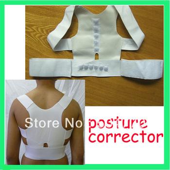6pcs/lot posture back support / magnetic back support 0425A posture corrector
