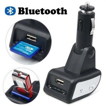Car Bluetooth FM Transmitter Modulator With Remote Control MP3 Player USB SD SO-601