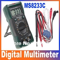 Bench Digital Multimeter Detector Non-Contact Range LED Flash Warning MASTECH MS8233C