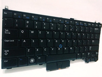 US Keyboard for DELL Latitude E4300 PP13S Keyboard without Backlit, New original Black E4200 E4310 United States Laptop Keyboard