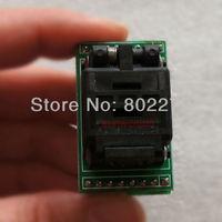 QNF8/MLP8/MLF8/SON8/WSOP8 to DIP8 Test Socket/Adapter PLASTRONICS 08QN12T16050