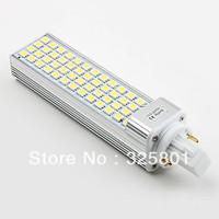 Hot sale!Free shipping CE&RoHS 2pcs 13W 52 LED SMD 5050 warm White Light Bulb Lamp 220V G24 E27 E26 Corn Light Bulb LED Lamp