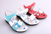3 Colors New style Spring Summer Fashion Children Sandals Genuine Leather sandals for kids Free Shipping