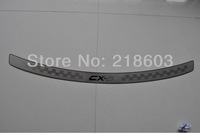 High quality Stainless steel Rear Protector Threshold Door Sill Plate Trim For Mazda CX5 CX-5