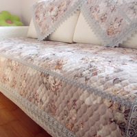 Jacquard sofa cloth hydrotropic laciness quilting sofa mat sofa cover cushion cover sofa cushion slip-resistant