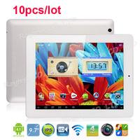 ONDA V972 Quad Core 32GB Tablet PC 9.7 Inch Android 4.1 Retina IPS Screen 2G Ram 4K Video 10pcs/lot