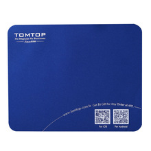 High quality super soft deslick Mouse mat with TOMTOP Logo 5pcs/lot(China (Mainland))