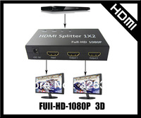3D HDMI Splitter 1 in 2 out,with Full HD 1080P