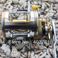 Free shipping!! 1pc Spinning Fishing Baitcasting Reel 5+1 Ball Bearings CT320 5.1:1