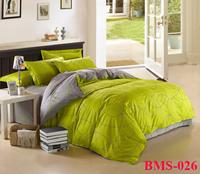 New 2014 fashion duvet cover set bed linen 100% Cotton Abstract  Pattern Printed 3 pcs/4 pcs Bedding Set